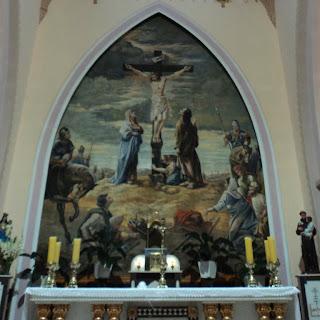 Pinturas da Catedral de Frederico Westphalen