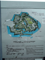 East Gardens plan - Tokyo Imperial Gardens, Japan