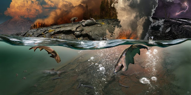 New geochemical study confirms cause of end-Permian mass extinction event
