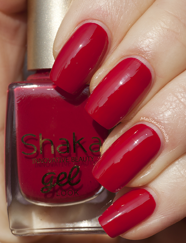 Shaka Gel Look 02 Red Sunset