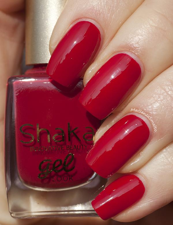Shaka Gel Look 02 Red Sunset