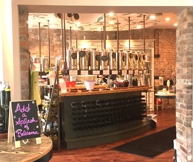 Bodacious Olive in Janesville, Wisconsin is a sampling wonderland for olive oils and vinegars!