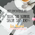 Alhamdulillah, Blog Sii Nurul Skor SEO 100%