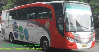 Harga Tiket Bus Kramat Djati jurusan Surabaya, Malang, Denpasar, Bali, Palembang, Solo, Ponorogo, Jogja.