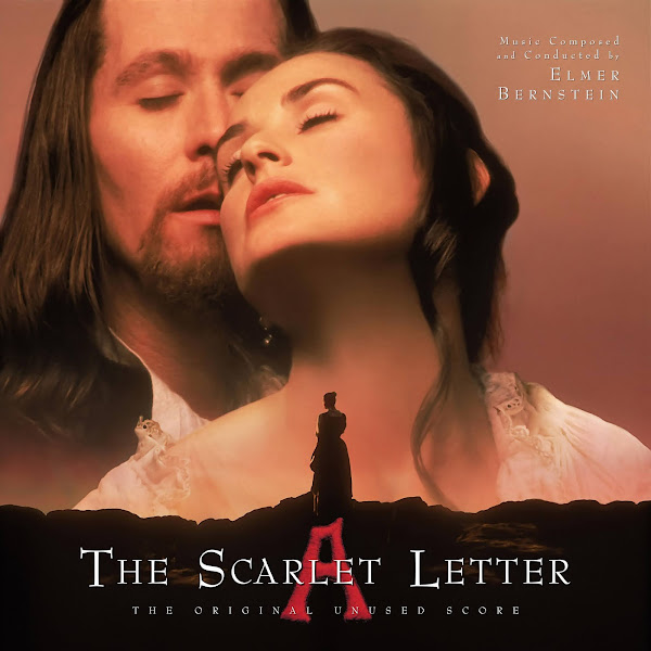 the scarlet letter unused soundtrack cover elmer bernstein