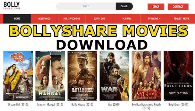 BollyShare Hollywood Dubbed in Hindi, Bollywood Movies Download & New Domain Link