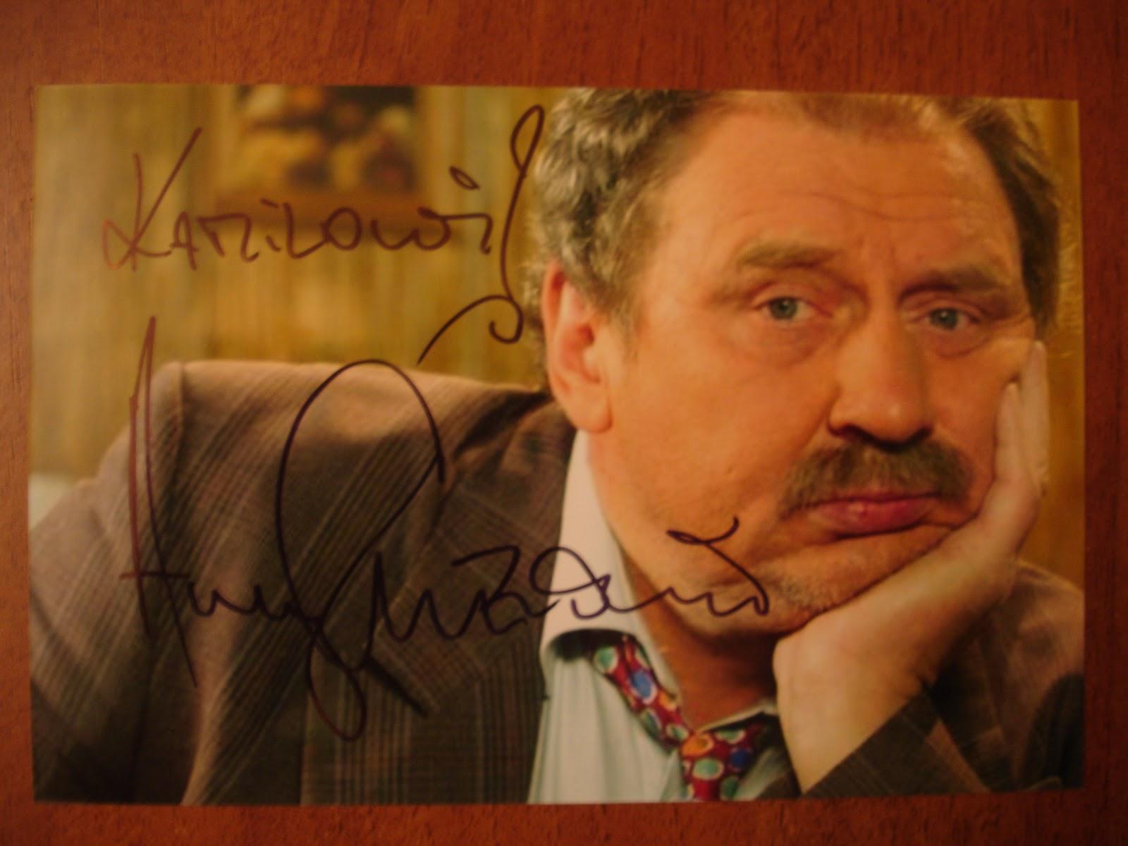Andrzej Grabowski Twitter: Autografy Kamila: Andrzej Grabowski