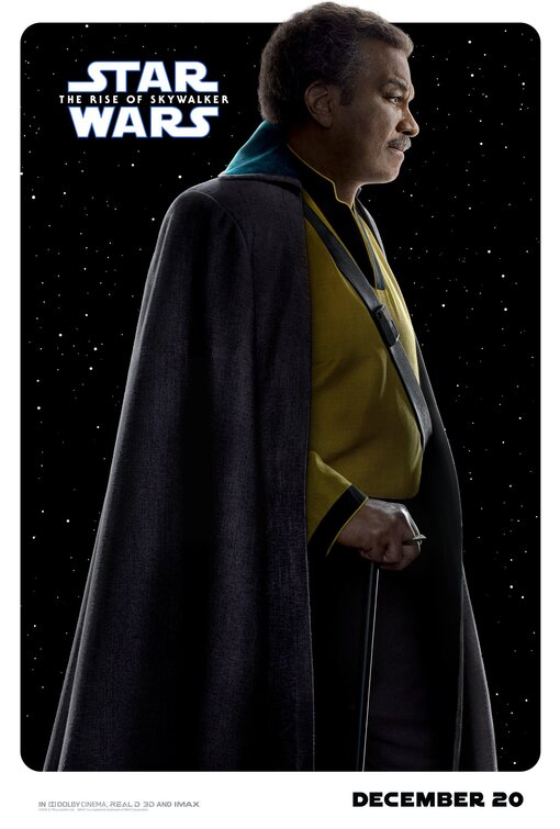 Star Wars Rise of Skywalker Lando poster