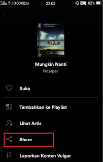 download lagu spotify - share lagu di spotify