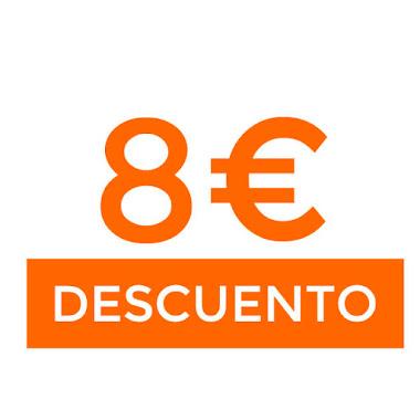 8€ dto en April Gift de Aliexpress