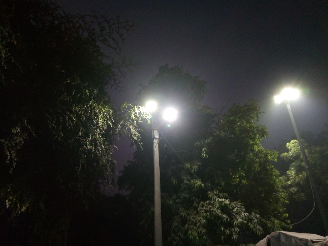 Night light camera samples of panasonic eluga a4