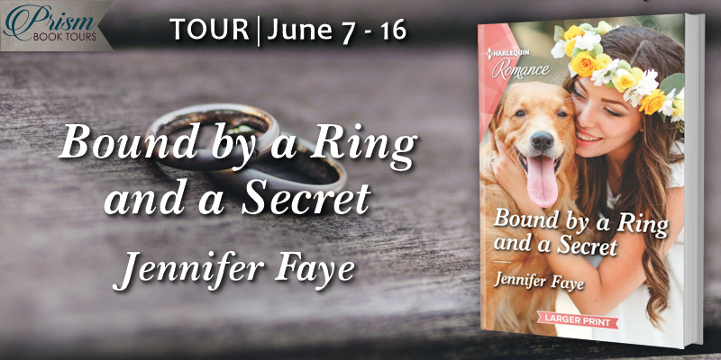 We're launching the Book Tour for BOUND BY A RING AND A SECRET by Jennifer Faye!
