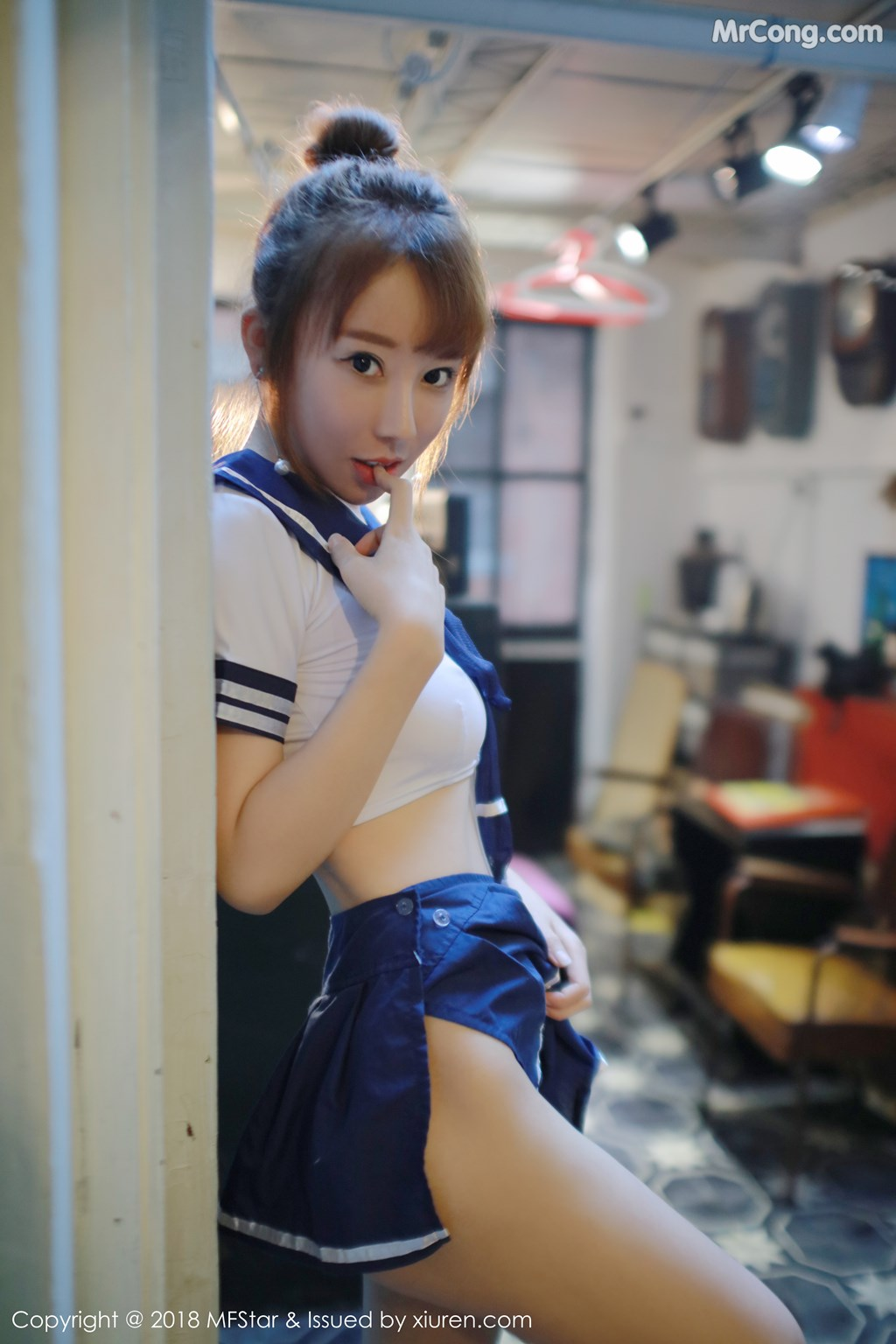 Image MFStar-Vol.154-Xia-Xiao-Xiao-Summer-MrCong.com-004 in post MFStar Vol.154: Người mẫu Xia Xiao Xiao (夏笑笑Summer) (36 ảnh)