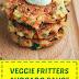 Veggie Fritters Avocado Sauce
