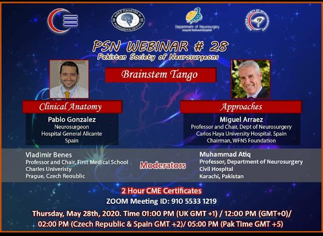 PSN WEBINAR # 28  Time: May 28, 2020 05:00 PM Islamabad, Karachi, Tashkent