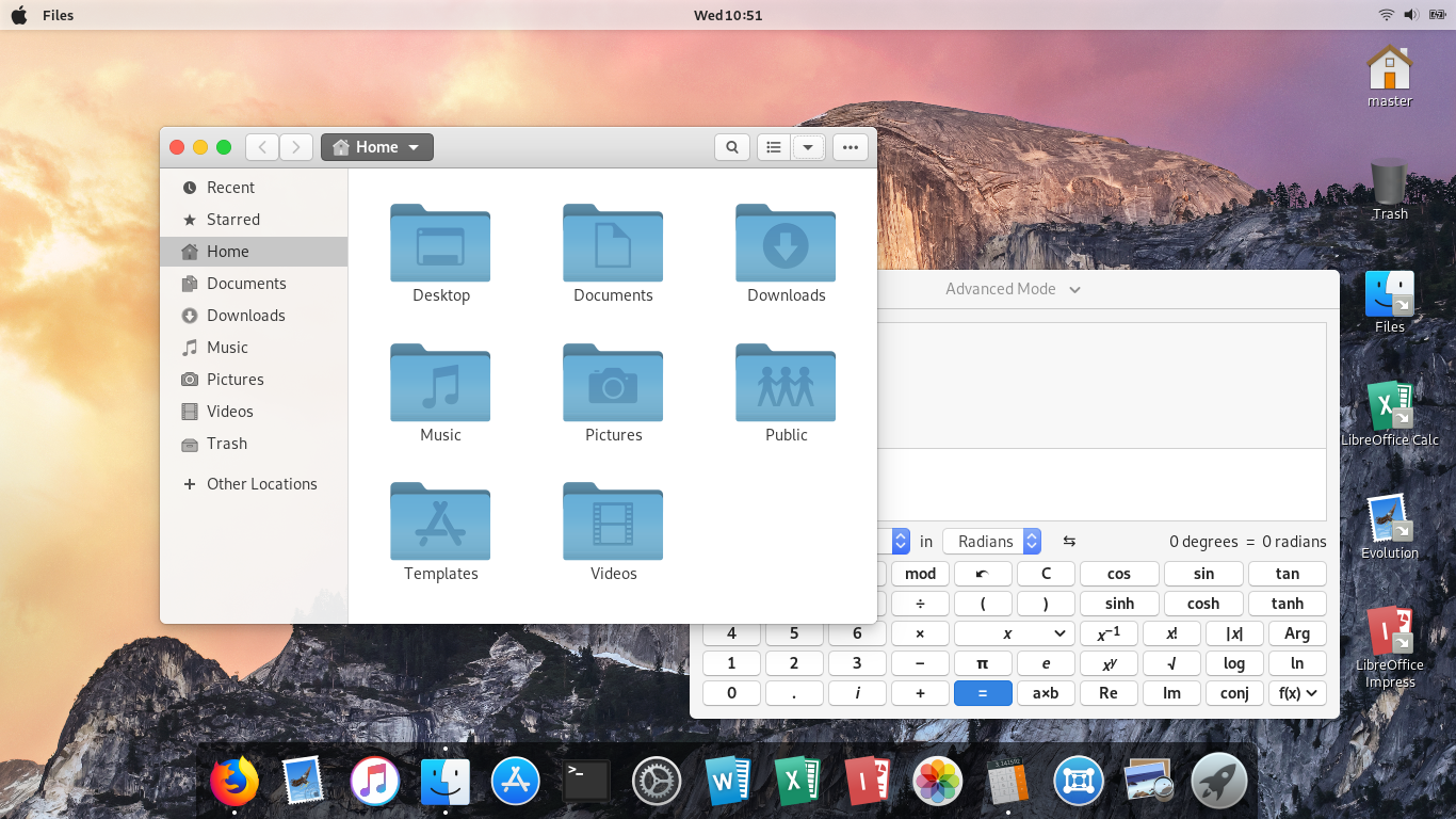 Ubuntu Buzz !: GNOME 3 + McMojave Theme Pack