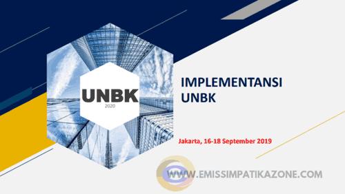 Hasil Rakor UNBK Helpldesk Nasional Tahun 2019/2020