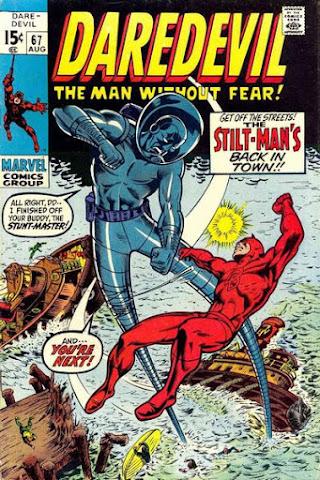 Daredevil #67, Stilt-Man