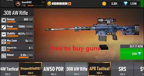 Sniper 3D Gun Shooter Mod Apk 3.2.6 - Trò chơi bắn súng miễn phí