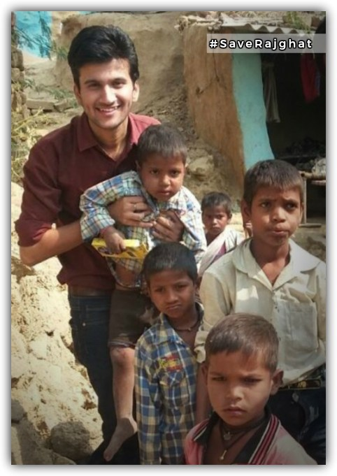 Meet Ashwani Parashar, the 22 year old medical student who is doing more than any Indian today to save Rajghat, the village that India forgot.