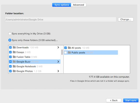 Google Drive Sync