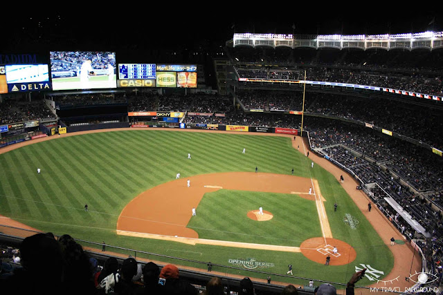 My Travel Background : Une semaine à New York - Yankee Stadium