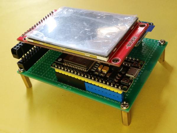 BugWorkShop - 甲蟲工作室: DIY - ESP32:ESP32 ILI9341 2 4吋