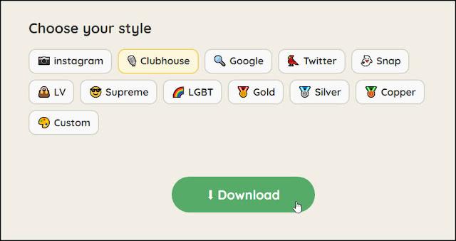 Clubhouse Avatar Maker:快速生成『Clubhouse』的頭像(大頭貼)