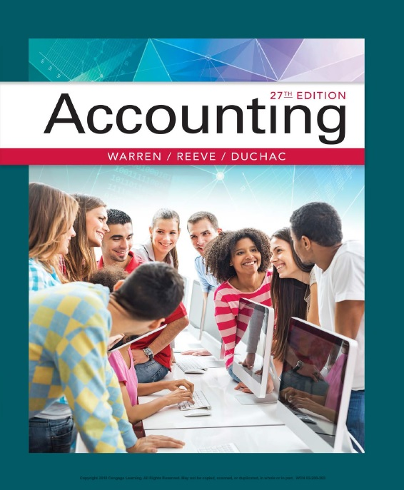 Accounting, 27th Edition