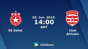 مشاهدة مباراة النجم الساحلي والإفريقي بث مباشر اليوم 3-6-2019 في كاس تونس