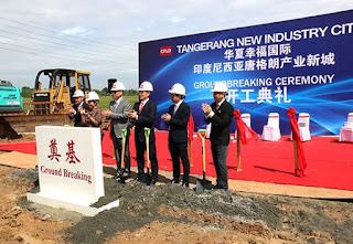 Mengintip Tujuan China Fortune Land Development Membangun Kota Industri