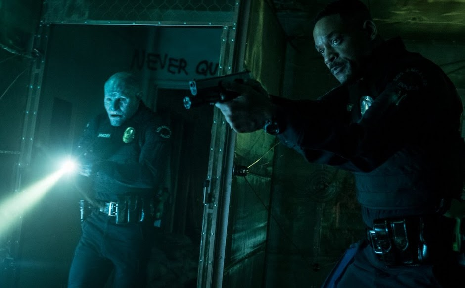 """Imagens de """"Bright"""" apresentam Will Smith e o primeiro policial Orc"""
