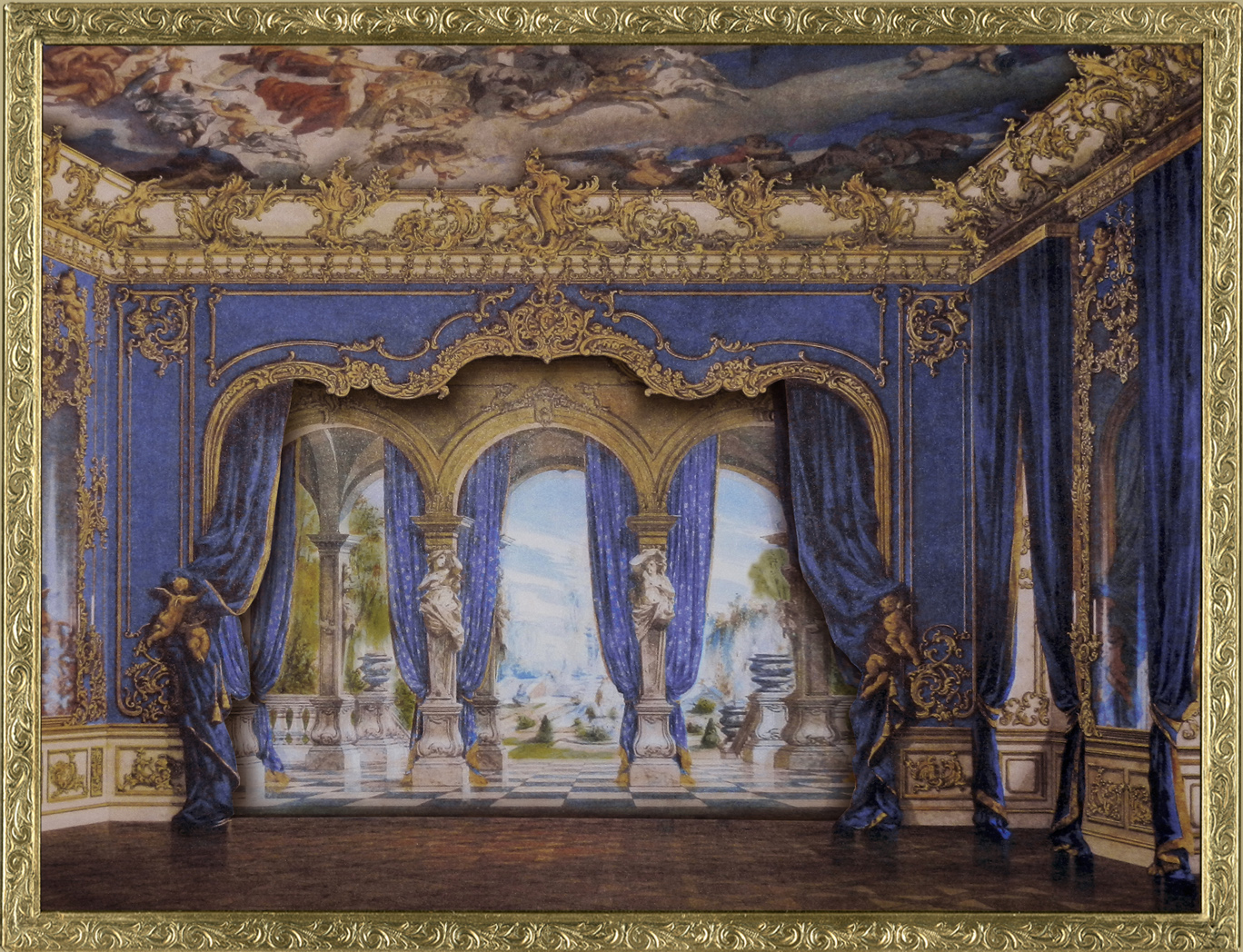 EKDuncan - My Fanciful Muse: French Parlor Scene with ...