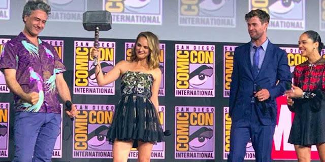 Natalie Portman se convertirá en la primera mujer Thor en 'Thor: Love and Thunder'