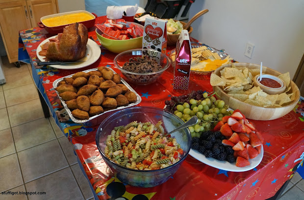 Food 1 Year Party