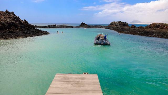 Praia Puertito de Isla de Lobos