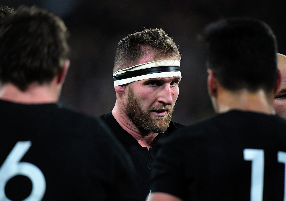 All Blacks captain Kieran Read during the Rugby Championship match between the New Zealand All Blacks and South Africa Springboks at Westpac Stadium in Wellington, New Zealand on Saturday, 15 September 2018.
