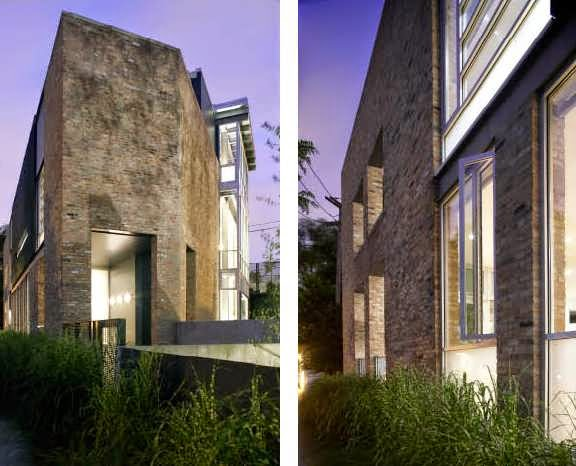 AMAZING TRIANGULAR-SHAPED HOUSE DESIGN FEATURES A THREE