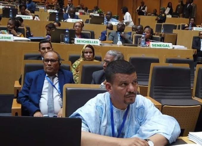 🔴 ورد الآن. الإتحاد الأفريقى يقف سدا منيعا أمام محاولة المغرب التسلل من داخل الصفوف لضرب و حدة المنظمة