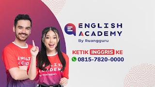 English Academy Ruangguru Review