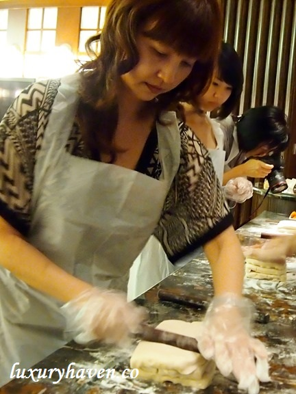 flaky crust mooncake making workshop