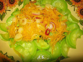 зажарка из овощей с кабачками