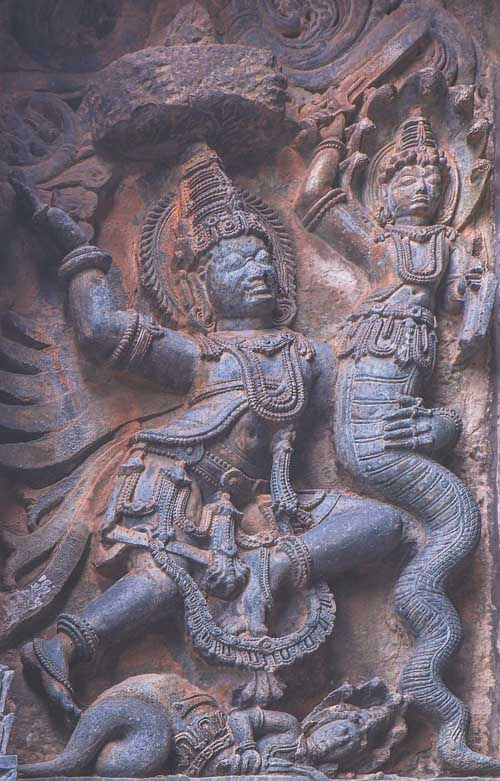 Garuda – Snake Vasuki Fight To Bring Shiva Back From Cosmic Sleep