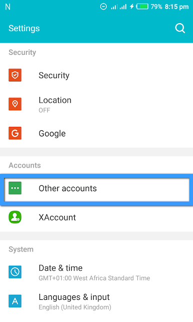 Step 2 How To Sign out from Google Play