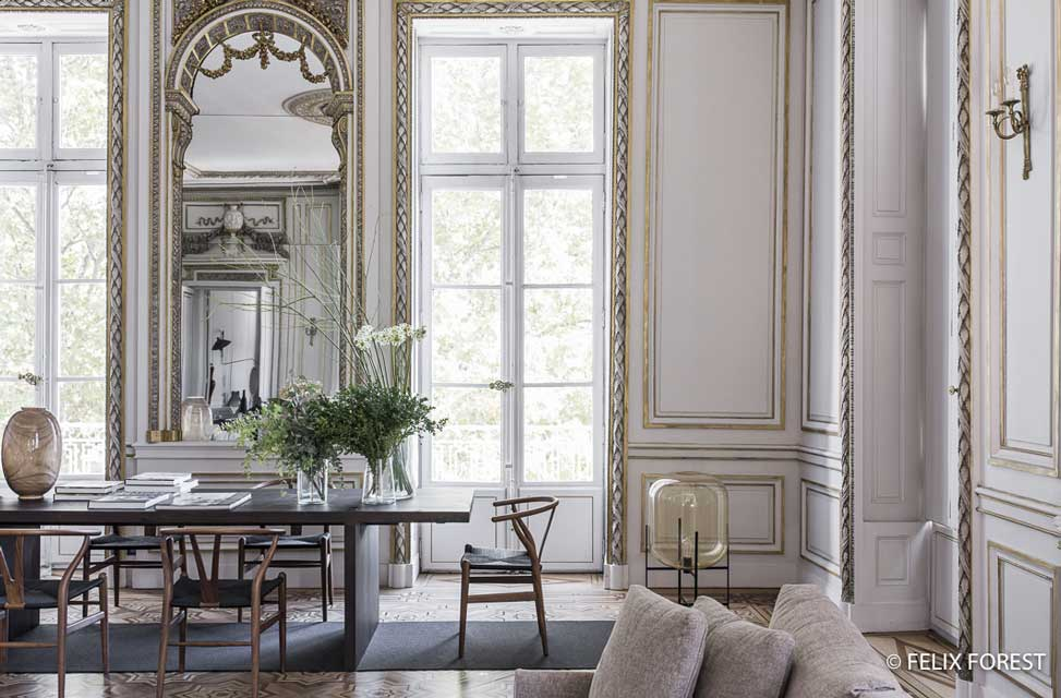Decor Inspiration : A Classic Apartment in The French Style | Cool ...