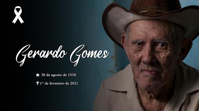 Obituário - Gerardo Joaquim Gomes