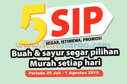Promo GIANT Produk Fresh 5 SIP Periode 25 Juli - 1 Agustus 2019