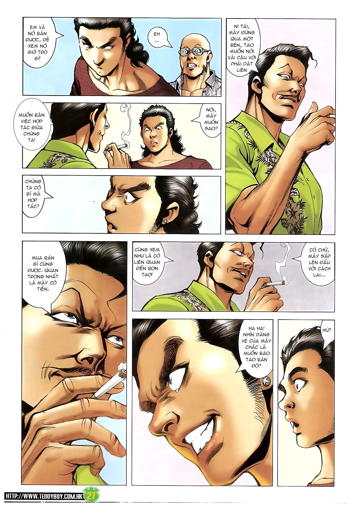 Người Trong Giang Hồ - Chapter 1397: Anh hùng cúi đầu - Pic 26