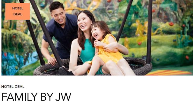 Marriott三亞山海天JW萬豪酒店家庭套餐 含全家自助早晚餐及親子活動(06/30前有效)