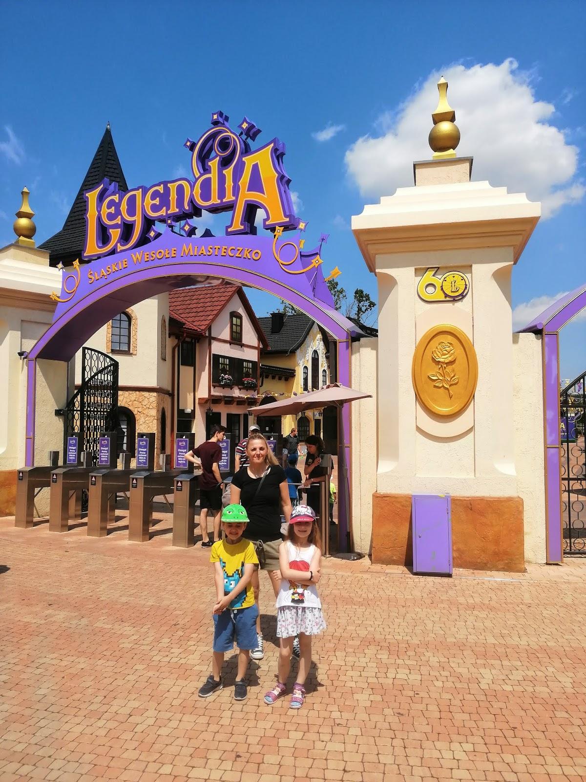 Legendia na blogu atrakcyjne wakacje z dzieckiem